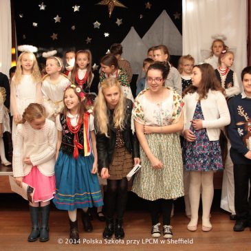 Nativity Play and Santa's visit in the Polish School in Sheffield
