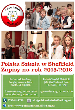 Zapisy na rok szkolny 2015/2016