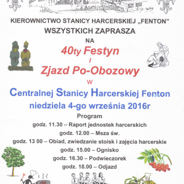 40th Polish Scouts' Fair and after-camp meeting